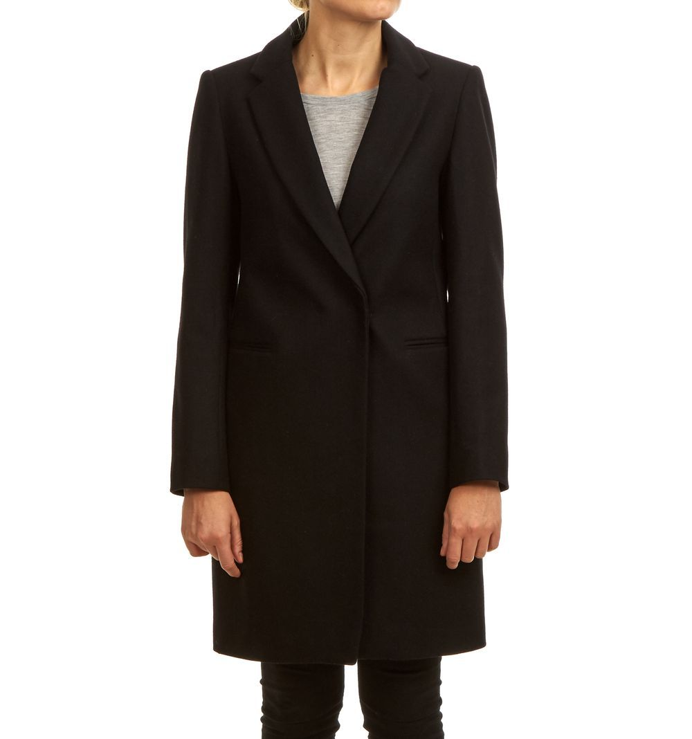 SORBONNE COAT BLACK via Jascha online store. Click on the image to see more!