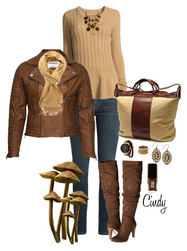 """""""Fall & Winter"""" by cindy32tn on Polyvore featuring Yves Saint Laurent, Neiman Marcus, Carlos by Carlos Santana, VIPARO, Forever 21, TKO Orlogi, Wouters & Hendrix Gold, Lucky Brand and JINsoon"""