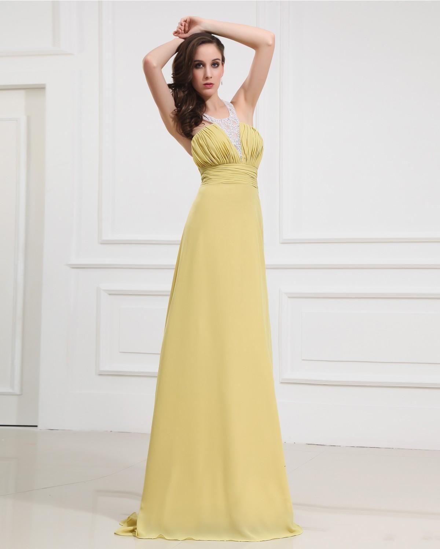 buy popular 28f6b 9913e Brautjungfernkleid in gelb. Abito giallo per damigella ...