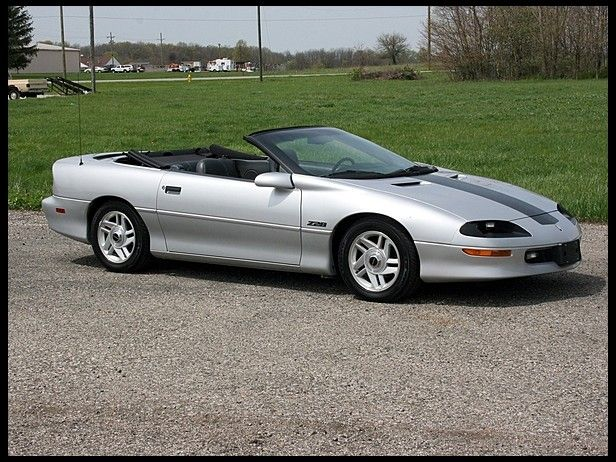 1995 Chevrolet Camaro Z28 Convertible Lt1 6 Speed For Sale By