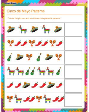 Cinco De Mayo Worksheets Free Printables
