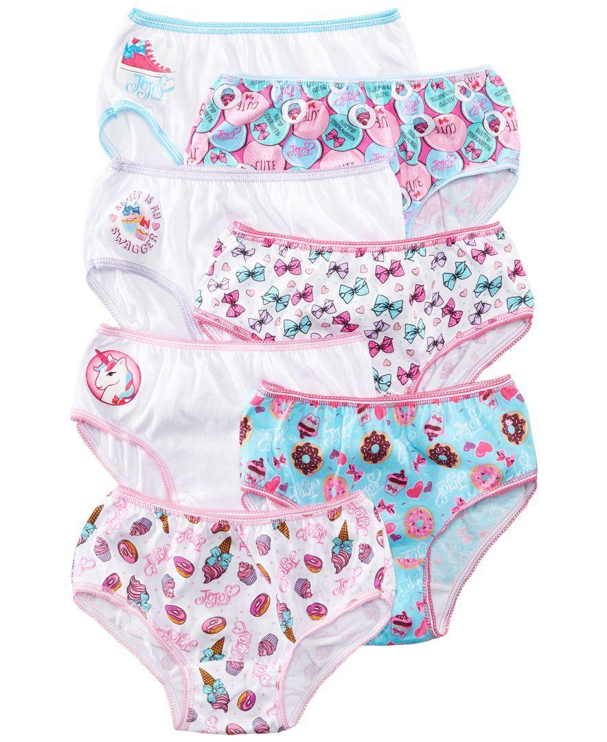 b7b1d2389ca Nickelodeon 7-Pk. Jojo Siwa Cotton Underwear