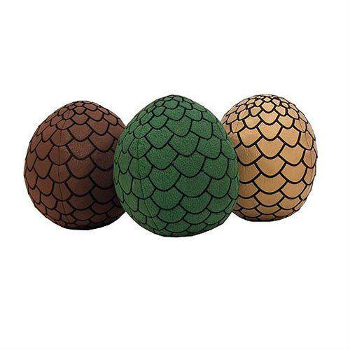 game of thrones plush eggs