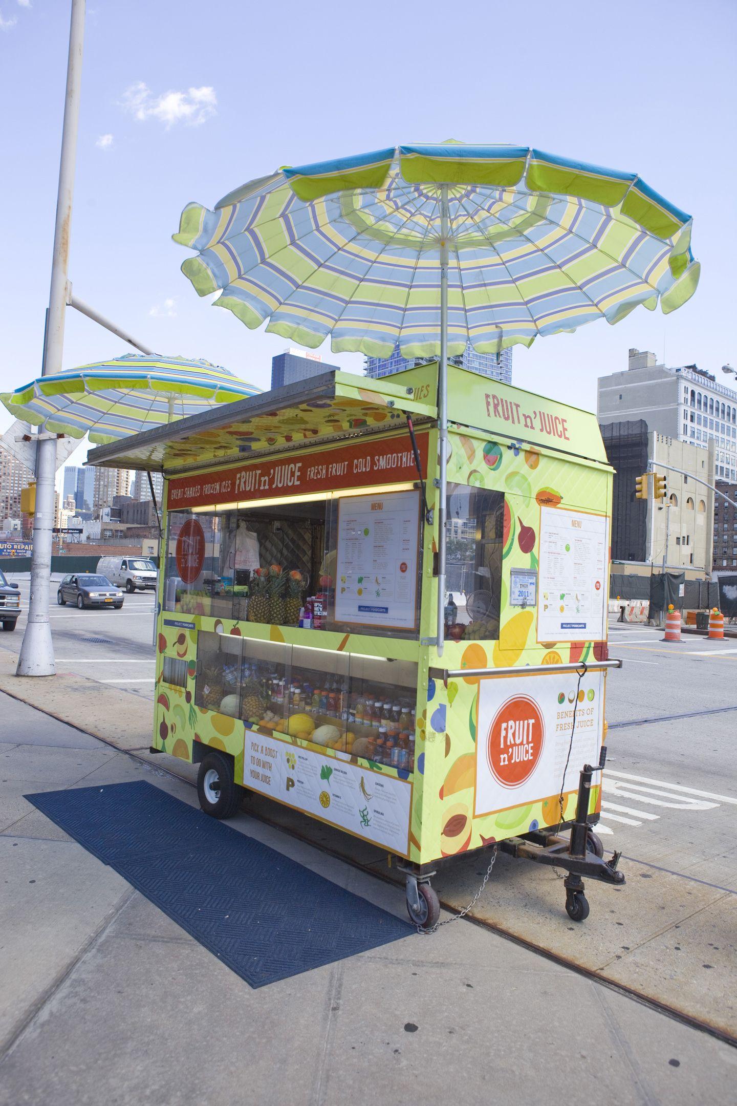 34th Street Partnership Designed Vendor Cart In Midtown