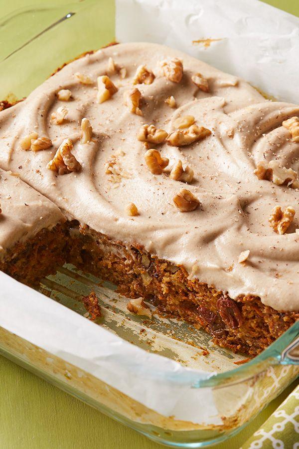 Perfect Vegan Carrot Cake Receita Refeicoes Veganas Ideias E