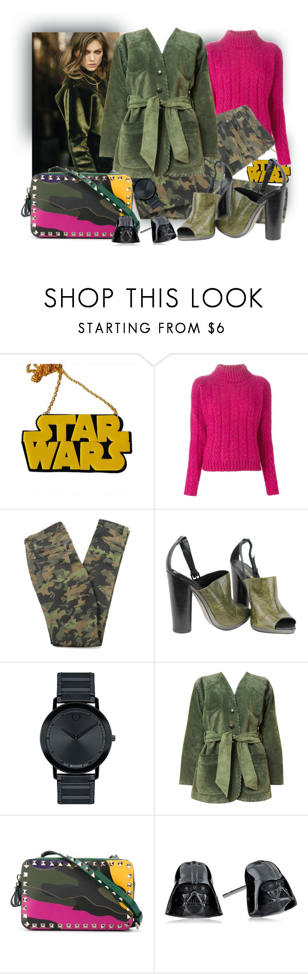"""""""I will not give up without fight"""" by tasha1973 ❤ liked on Polyvore featuring Chicnova Fashion, Cacharel, Rebecca Minkoff, Garnier, Movado, Yves Saint Laurent, Valentino, women's clothing, women's fashion and women"""