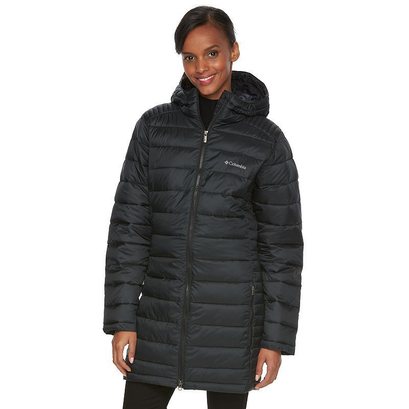 Women's Columbia Frosted Ice Hooded Puffer Jacket
