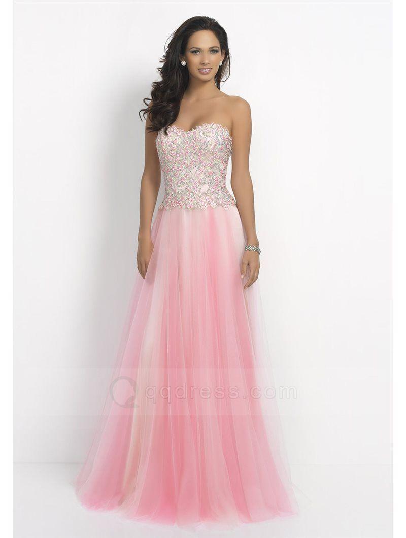 Lujoso Rubor Vestido De Novia De Color Rosa Cresta - Colección de ...