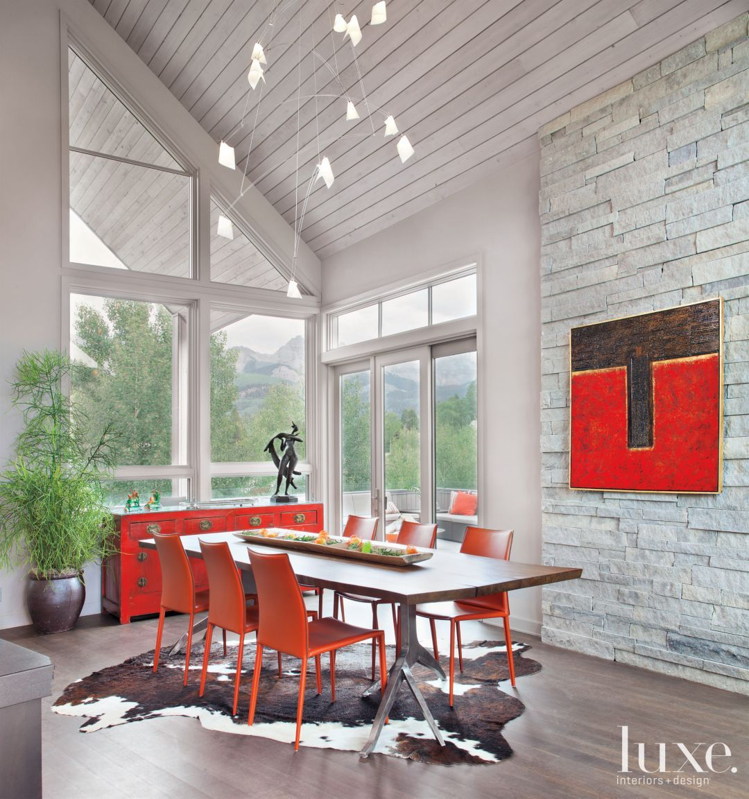 This Dining Room Is Incredible Dining Rooms Warm Colors  # Alejandra Hoeffner Muebles