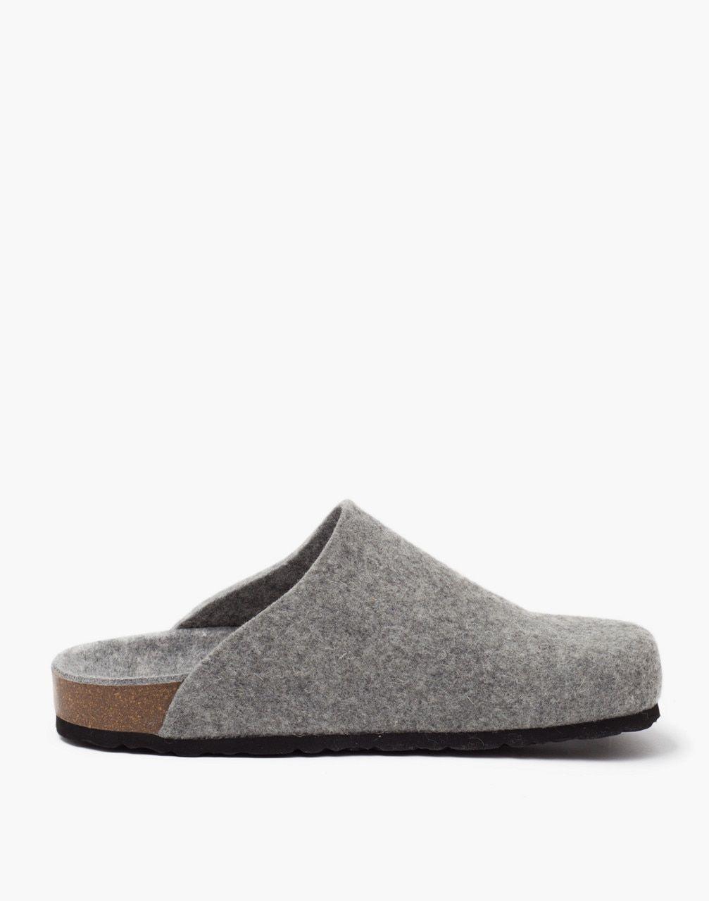 Men S Shepherd Of Sweden Felted Wool Morgan Slippers Clogs Style Wool Felt Slippers