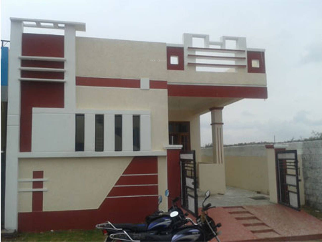 Front Design Of House Ground Floor Part - 43: House Front Design