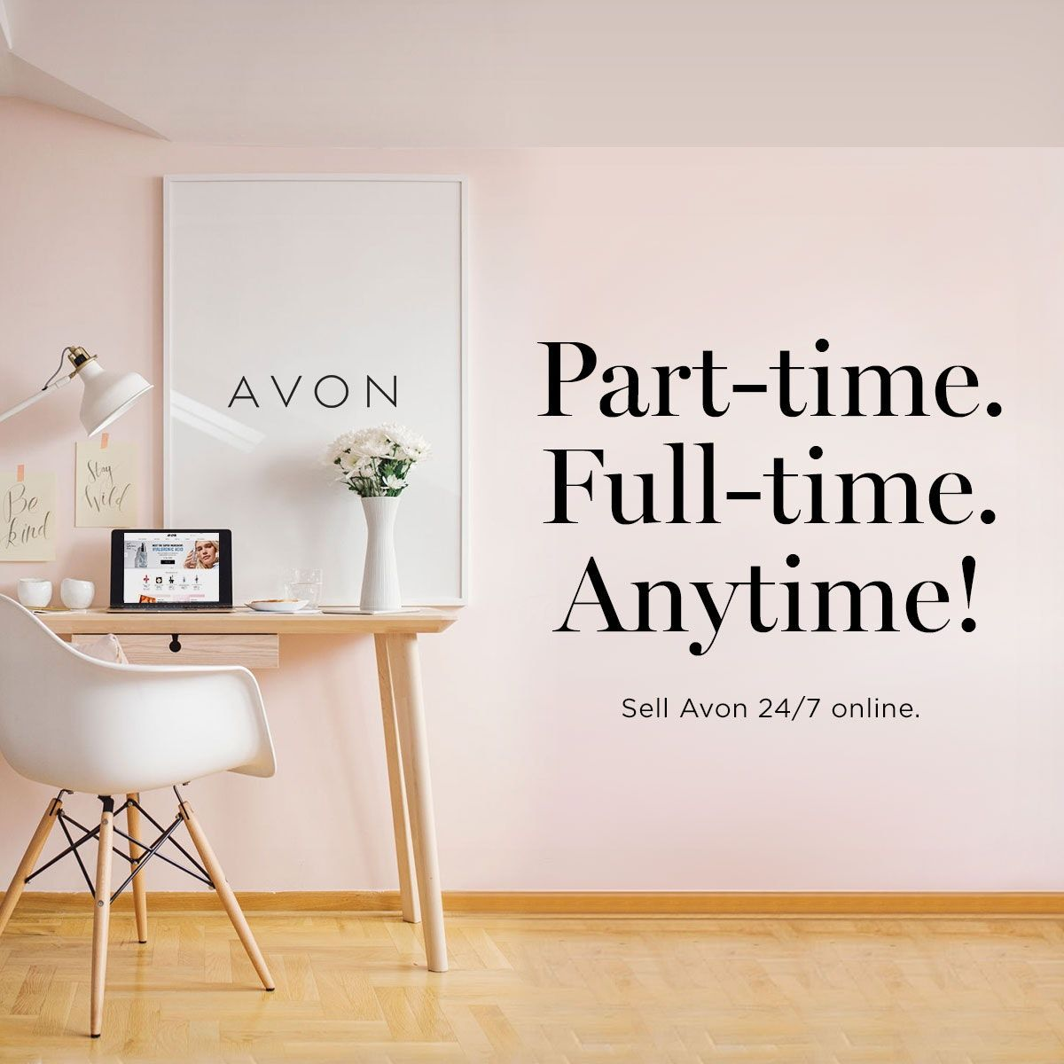 Sign up to an Avon Representative for free from Feb