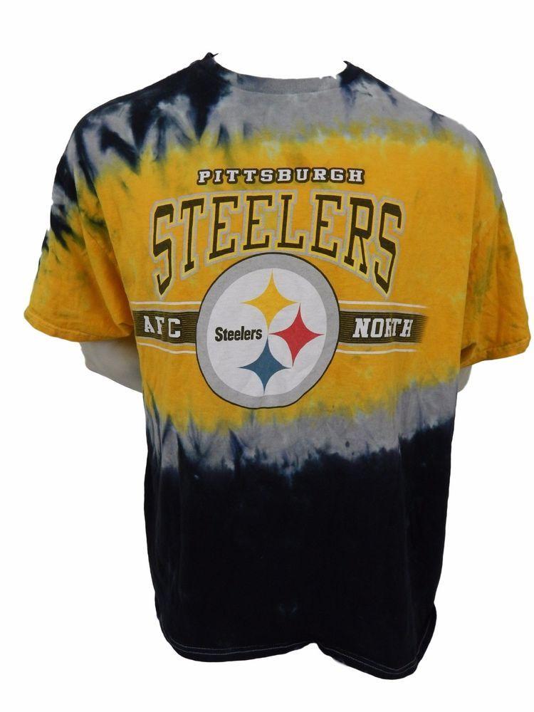 Pittsburgh Steelers Tie Dye Shirt Size 2XL XXL NFL Football  NFLTeamApparel   ShortSleeve 17ade7da1