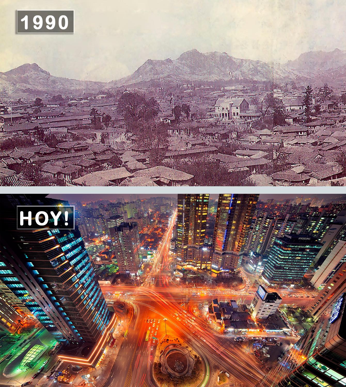 Seúl, Corea Del Sur Antes Y Ahora. #DescubreUdever