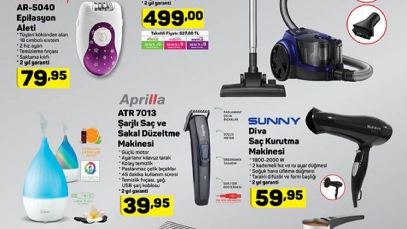 A101 Aktuel Urunler Gelecek A101 Katalogu In 2020 Hair Dryer Vacuum Cleaner Dryer