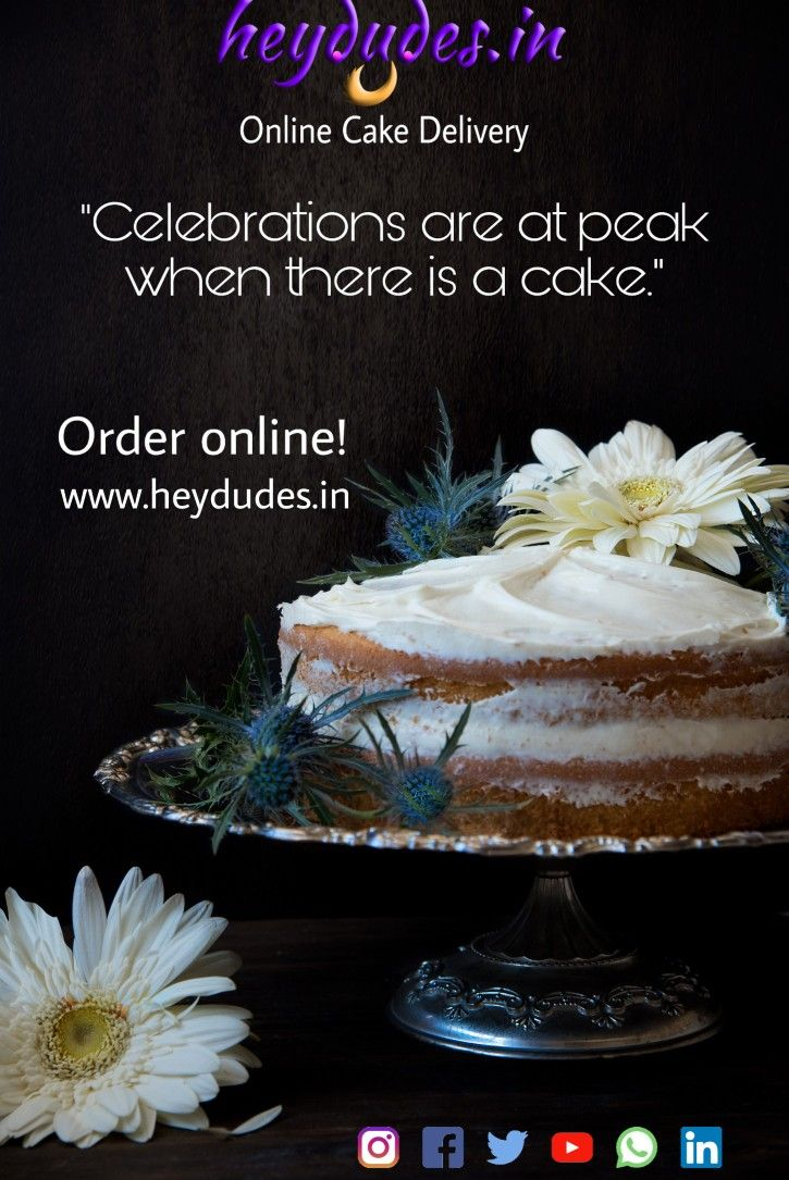 Looking for cake home delivery. We do the best. 24 hours