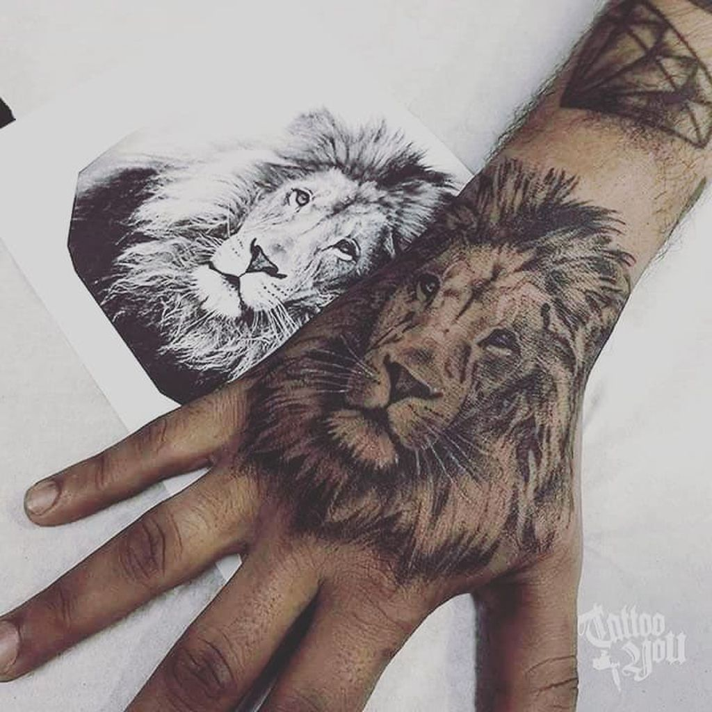 40 Interesting Hand Tattoos Ideas For Women Lion Hand Tattoo Lion Hand Tattoo Men Hand Tattoos