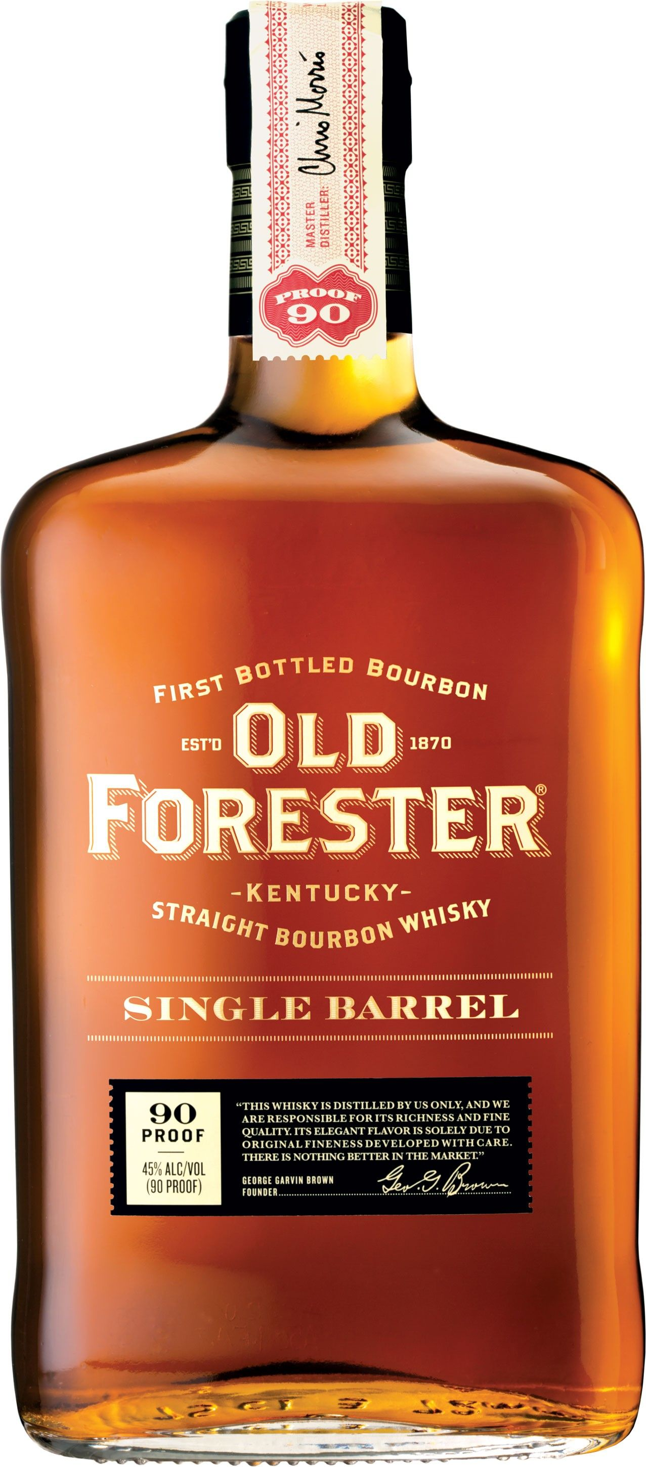 Old Forester Single Barrel Kentucky Straight Bourbon Whisky Bourbon Whisky Bourbon Drinks