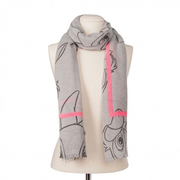 die beste Einstellung neueste auswahl Markenqualität Schal mit Klopfer von Disney Bambi light grey | Der trendige ...