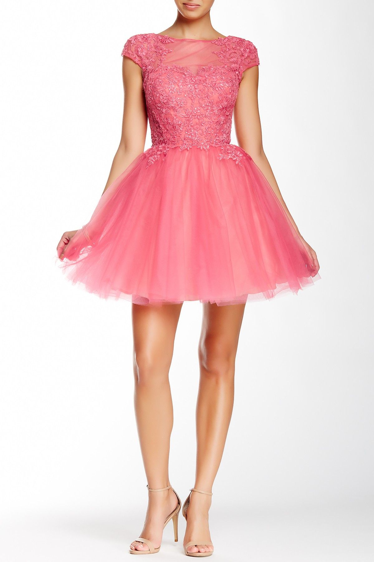 Hello the prettiest pink party dress! | My Style | Pinterest