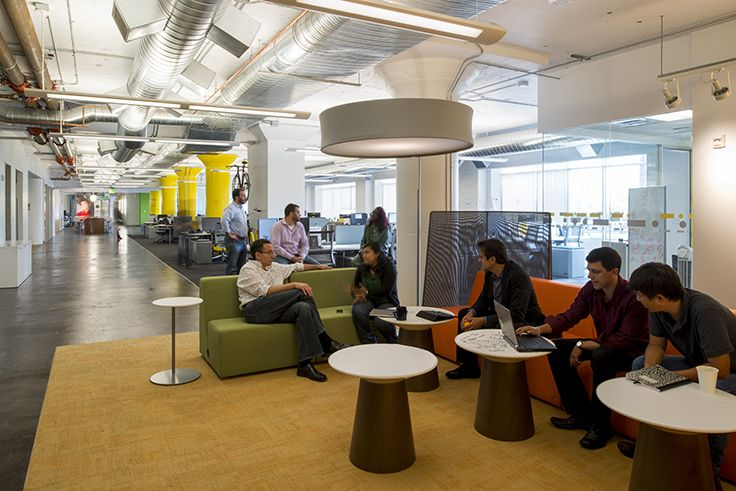 FENNIE+MEHL Architects Developed The New San Francisco Offices Of Financial  Services Company Western Union. Western Union Needed A New Digital Platform