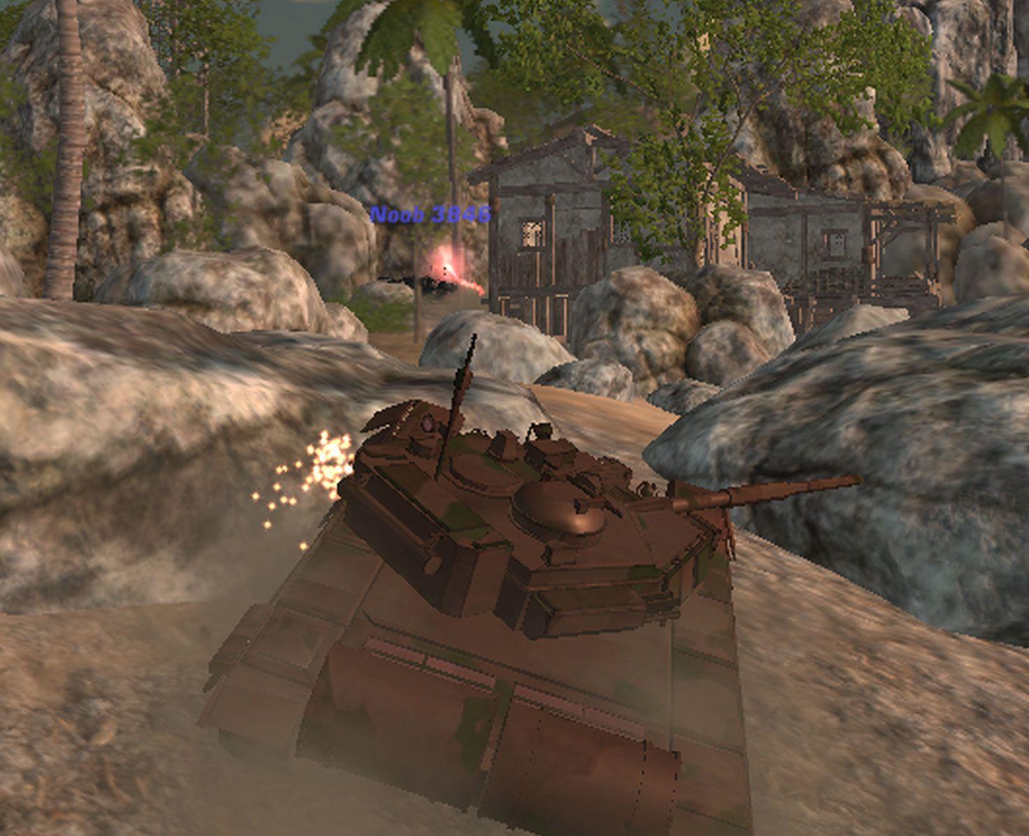 Tank Off Gamesroom, Games, Classic games