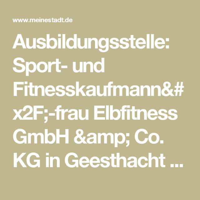 Bewerbung Ausbildung Fitnesskaufmann Beispiel