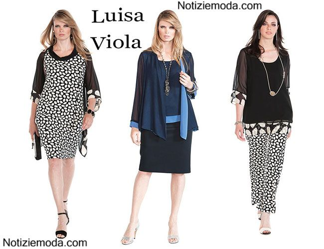 ebdc80248091 Abiti Luisa Viola 2015 taglie comode moda donna