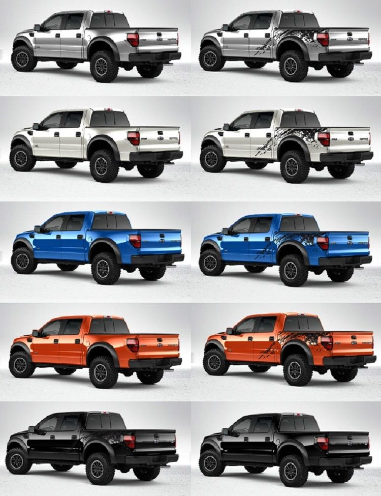 Ford Raptor Colors 750 X 975 Ford Raptor Ford Raptor
