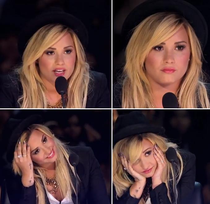 X Factor Judges 2013 Demi Lovato Demi Lovato X Factor 2...