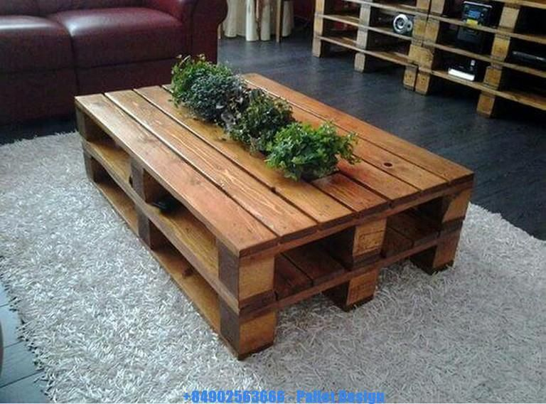 Cool Pallet Furniture Stylish Interesting Wooden Pallet Tables