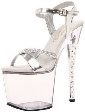 Pleaser Women's Diamond-715/S/C Platf... on shopstyle.com