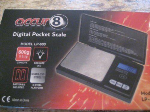 Digital Pocket Scale Accur8 600 Grams