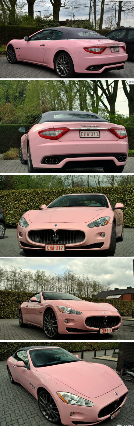 Maserati I Take She Is A Top Top Sales Achiever For Mary Kay