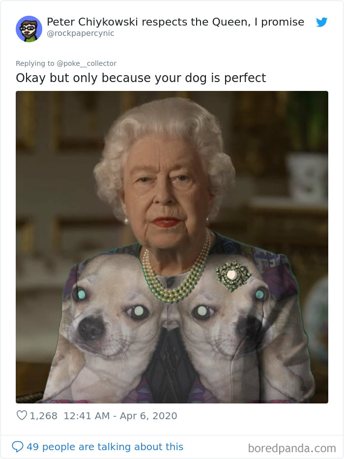The Queen Of England Gives A Speech In A Green Dress And The Photoshoppers Know What To Do 35 Pics Queen Meme Queen Elizabeth Ii Elizabeth Ii