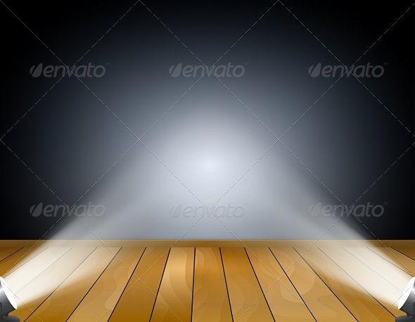 Dark Background with Spotlights by Ramcreativ Dark background with