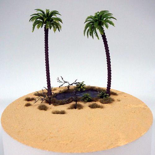 Tree Model Diorama Kit for Kids Adult - Quick Diorama Desert Oasis