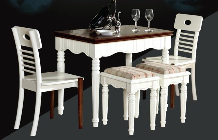juego comedor blanco madera beautiful moderno barato gallery casas ...
