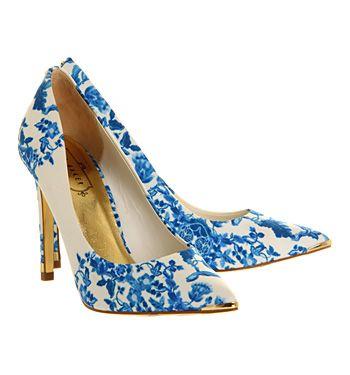 496617cea Ted Baker Luceey High Heel Blue Satin - High Heels