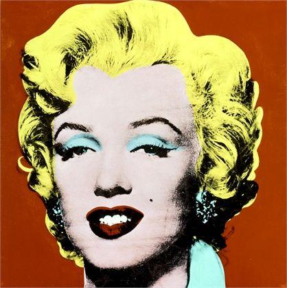 Shot Red Marilyn