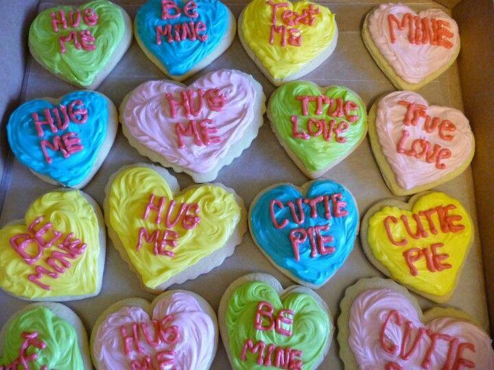 Valentine Sugar Cookie Cut-Outs