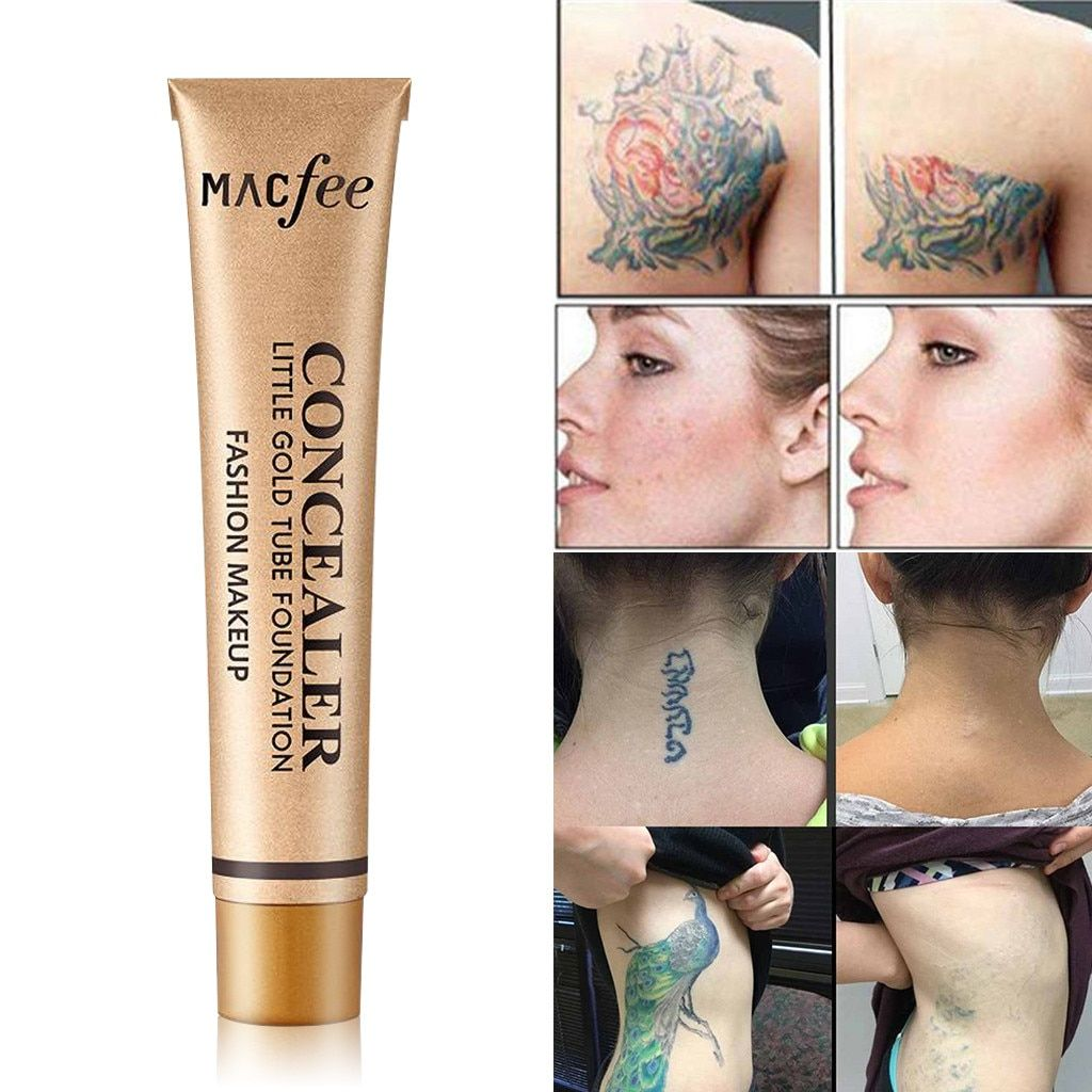 Tattoo Concealer To Cover Tattoo Scar Birthmarks