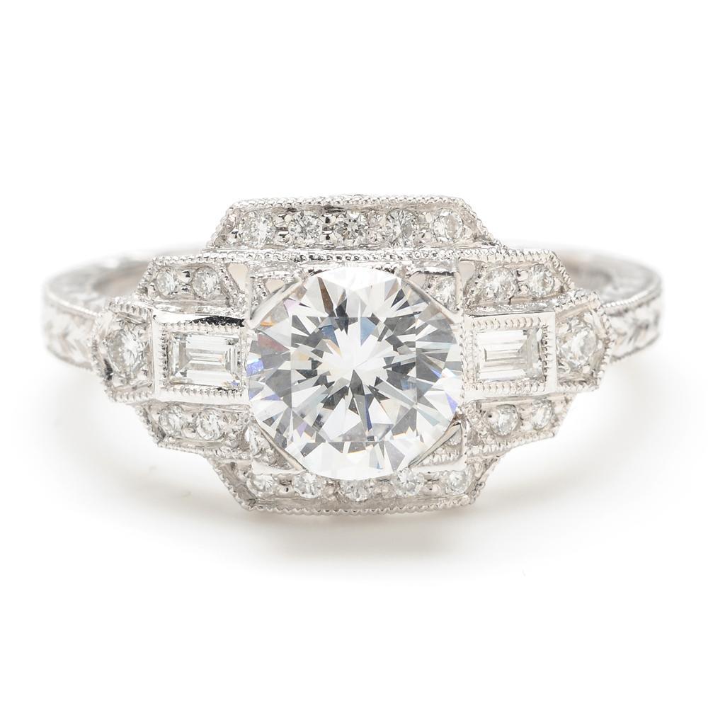 Art Deco Engagement Rings Greenwich Jewelers Beverley