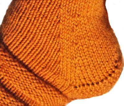 Salli-sukat, nauhakavennuskantapää   Punomo