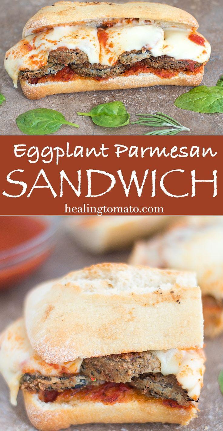 Eggplant parmesan sandwich recipe comfortfood eggplant parmesan eggplant parmesan sandwich recipe comfortfood eggplant parmesan and eggplants forumfinder Image collections