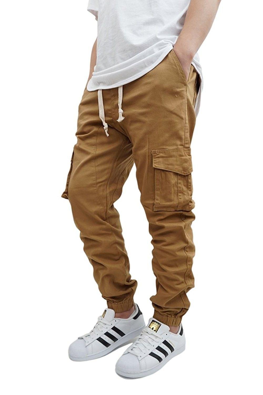 Urbanj Men S Wheat Cargo Twill Jogger Pants Cc12k4ep7t7 Moda Masculina Casual Moda Masculina Despojada Moda Masculina Dicas