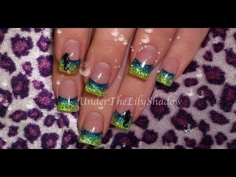 ☆★ Acrylic nails - Seahorse ★☆