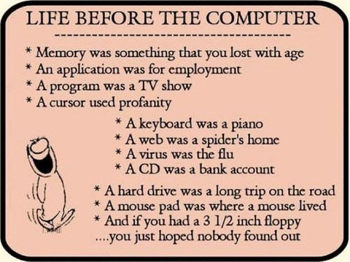 """Life Before The  Computer"""