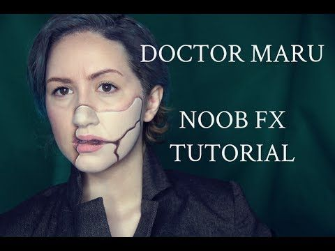 Halloween costumes · Doctor Poison/ Dr. Maru from Wonder Woman Noob FX Makeup Tutorial NO PRO.  sc 1 st  Pinterest & Doctor Poison/ Dr. Maru from Wonder Woman Noob FX Makeup Tutorial NO ...