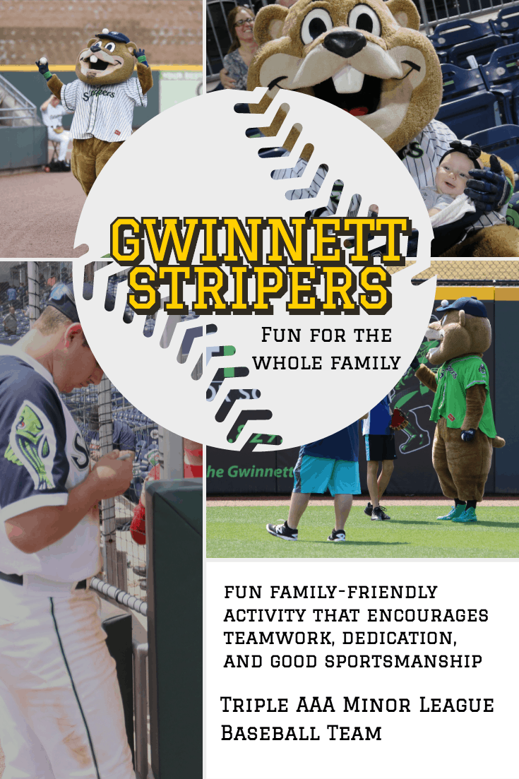 Bear Stripers gwinnett stripers upcoming fun family events 2019 (giveaway